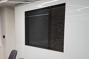 Commercial Single Display in Conference Room