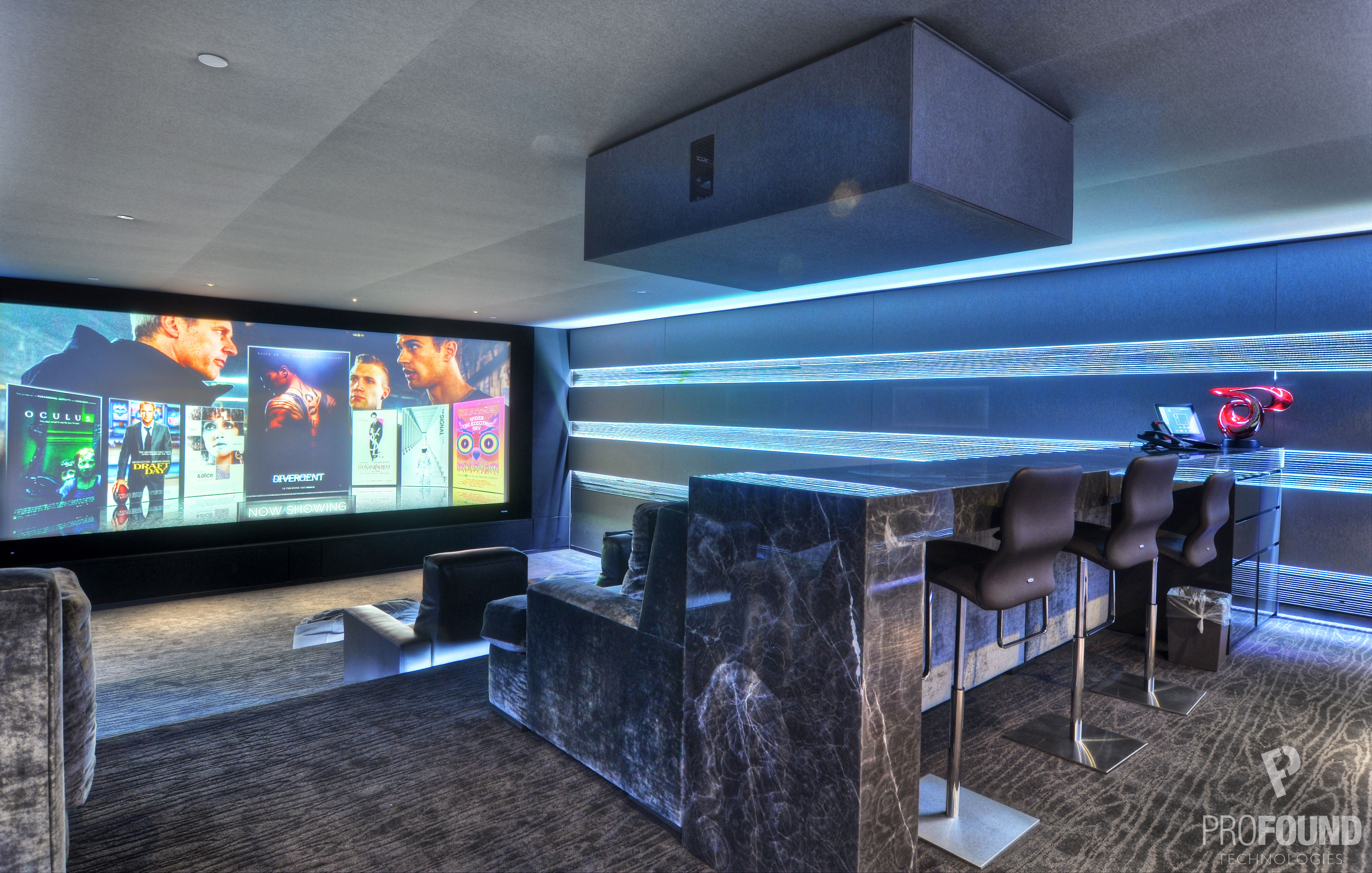 Residential Home Movie Theater